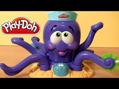 PLAY DOH Octopus Playset Disney Nemo Dory Flounder Sebastian Ocean Animals Ośmiornica Play Dough