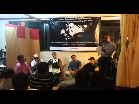 Bangladeshi workers in Singapore hold memorial service for Mr Lee