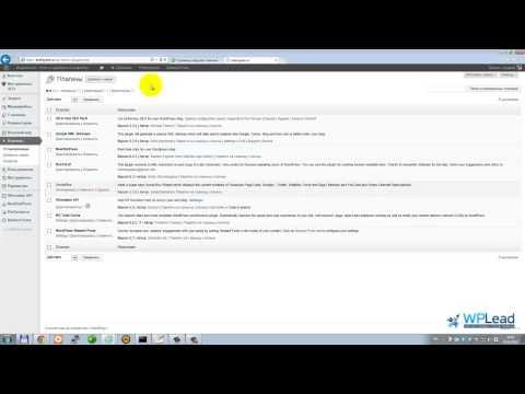 Скачивание, установка и активация плагина - WPLead