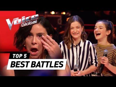 BEST BATTLES in The Voice Kids around the world