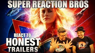 SRB Reacts to Honest Trailers - Captain Marvel