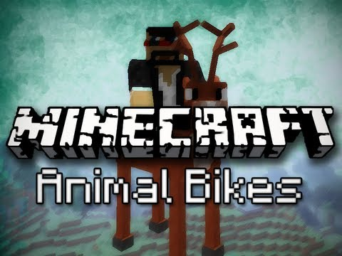 Minecraft Mods: Dragon Riding, Squid Surfing, and More! (Animal Bikes Mod) Music Videos