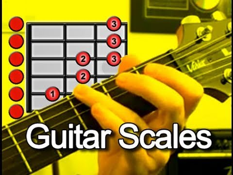 0 E Minor Blues Scale   Guitar Lesson (For Blues, Rock, Metal and more)