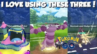 I LOVE USING THESE THREE! Pokemon GO PvP Nightmare Cup Great League Matches