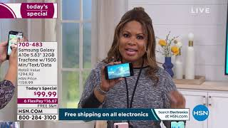 HSN | Electronic Connection featuring TracFone 01.24.2020 - 01 AM