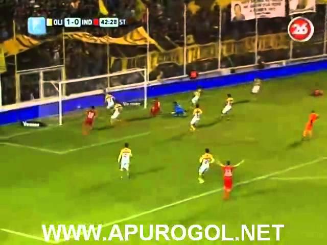 Olimpo vs Independiente (1-2) Primera División 2014 Fecha 4