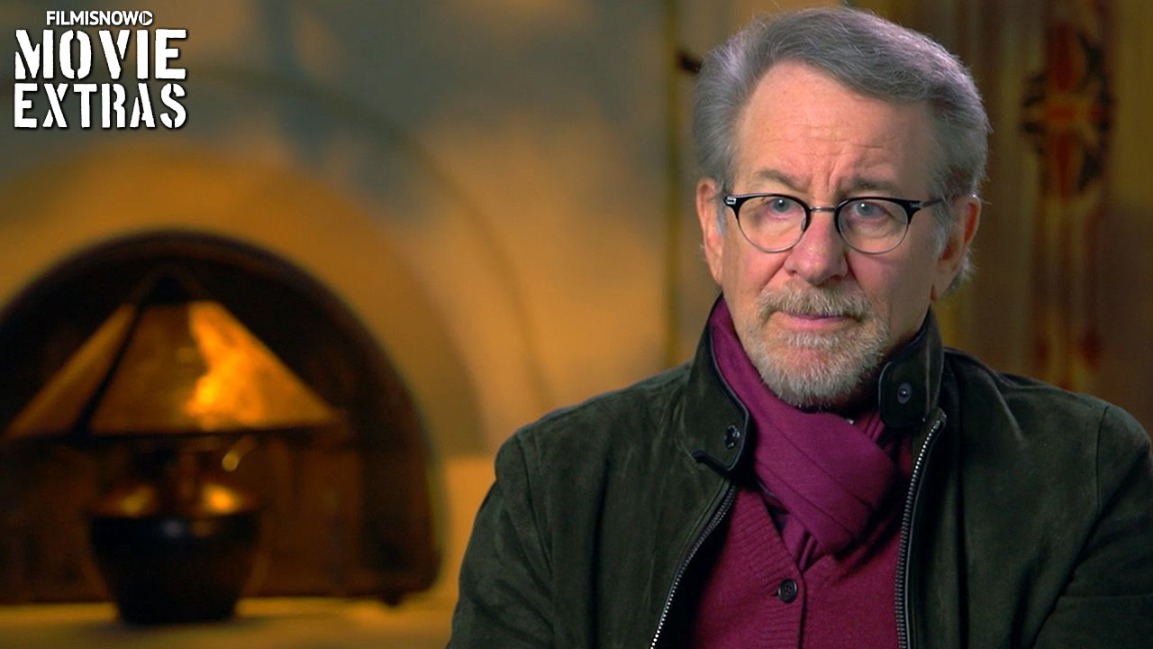 The BFG | Steven Spielberg discusses Trailer Debut [Interview]