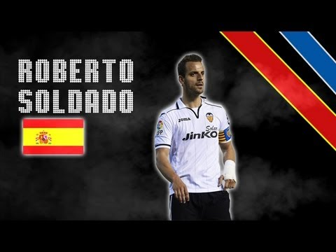 ROBERTO SOLDADO | Skills, Assists and Goals | Tottenham Hotspurs | 2013/2014 (HD)