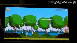 Nokia 808 PureView - Demo gameplay Angry Birds (Free with Magic)