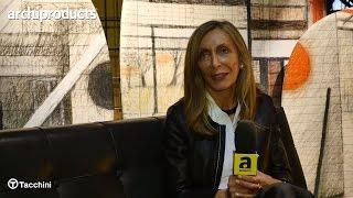 Salone del Mobile.Milano 2017   TACCHINI - Emanuela Frattini ci racconta il divano Oliver