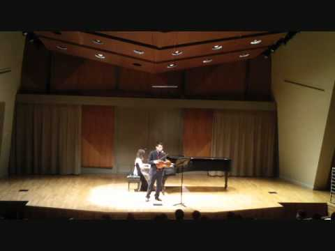 Born Lau and Vivian Fan - Brahms Eb Sonata 1st Mov