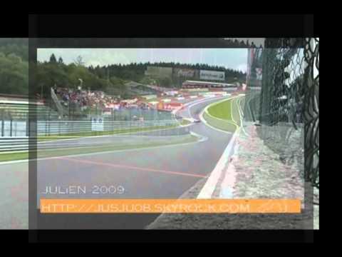 Eau Rouge Overlap - Forumla 1 vs FIA GT cars