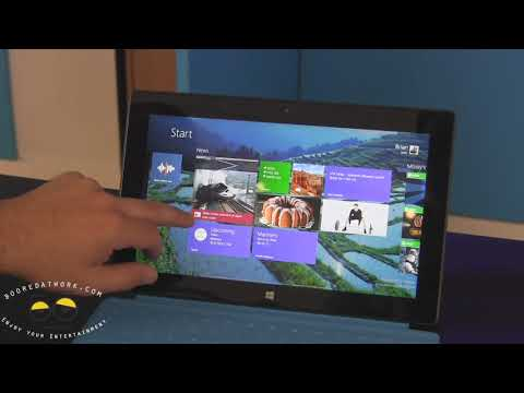 Microsoft Surface RT with Windows 8.1 Walkthrough