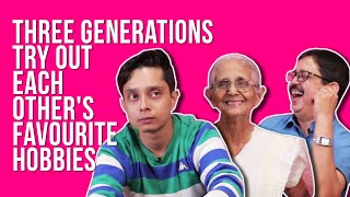 Three Generations Review Each Other