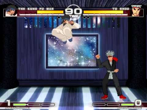 MUGEN : Hard Work The Kung Fu Man vs Tu Shou
