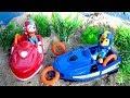 Щенячий Патруль - Спасательные Катера - Все серии. Paw Patrol Sea Chase & Marshall