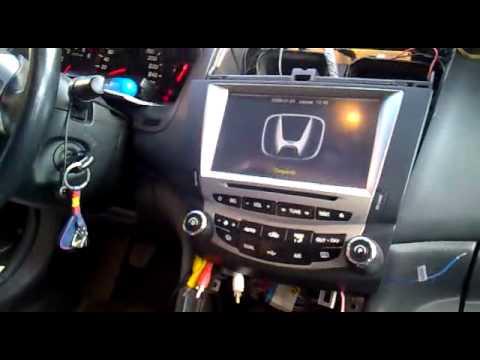 Radio Honda Accord 2005 Audio Youtube
