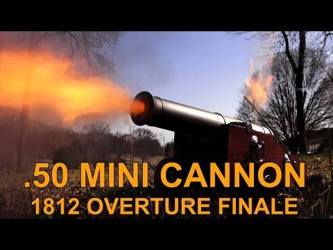.50 Miniature Cannon (1812 Overture Finale)