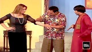 Best of Iftikhar Thakur, Gulnar & Sajan Abbas - Best Comedy Scenes in Stage Drama😂
