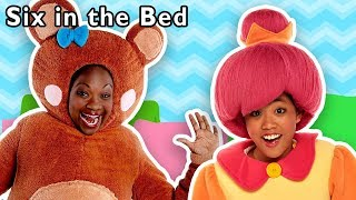 Six in the Bed and More | SLEEPOVER RHYMES COLLECTION | Baby Songs from Mother Goose Club!