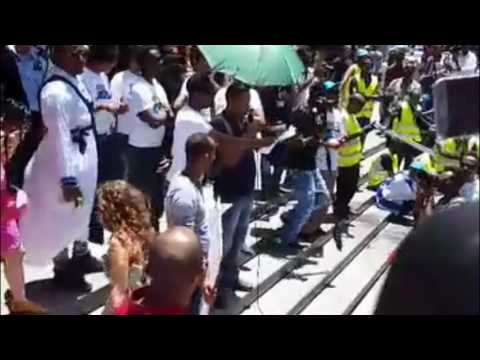Video: Eritreans in Israel demonstrate in support of COI