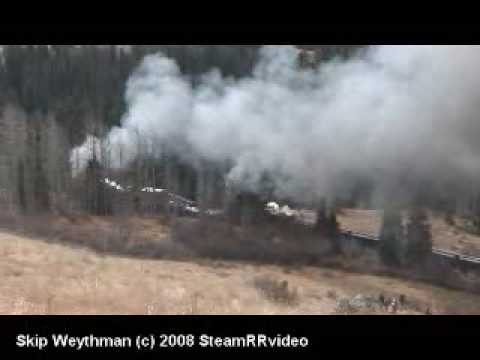 DRGW Triple-header Freight over Cumbres Pass C&TS RR