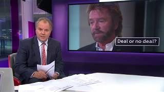 Noel Edmonds talks about his legal action against Lloyds Banking Group.