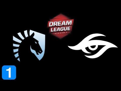Liquid vs Secret Game 1  DreamLeague season 8 Highlights Dota 2