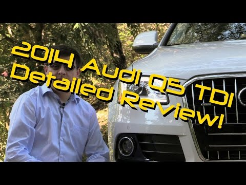 2014 / 2015 Audi Q5 TDI Detailed Review and Road Test