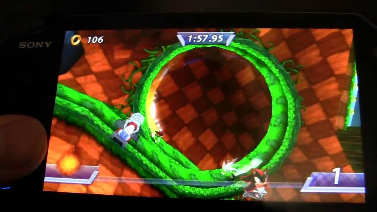 Psp Games on The Vita Sonic