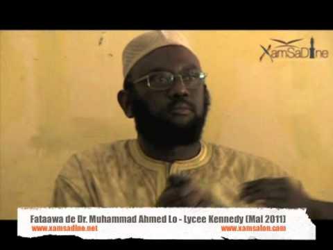 Dr. Mouhammad Ahmad Lô - Questions/Reponses sur l'islam