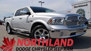 Walk Around 2017 RAM 1500 Laramie   Northland Dodge   Auto Dealership in Prince George BC
