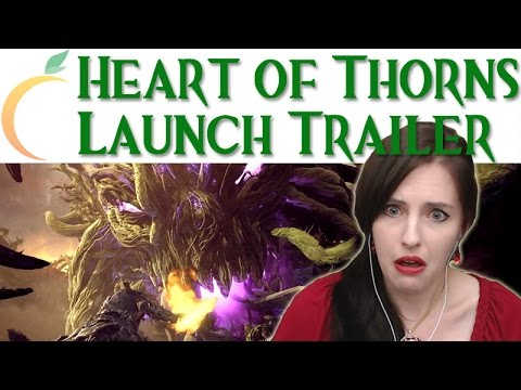 PEACHY REACTS ● GW2 Heart of Thorns LAUNCH TRAILER