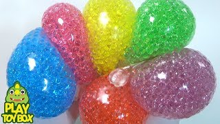 Stressball Color Balloons Liquid Monster Slime Clay Orbeez Surprise Egg Toys