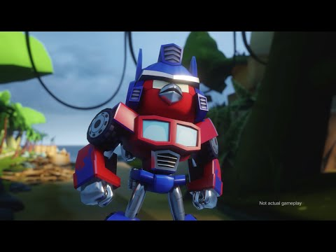 Angry Birds Transformers Comic-con Trailer video