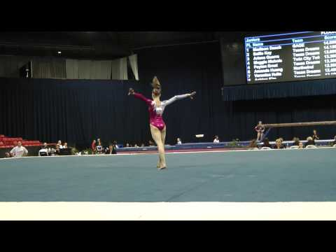 Polina Shchennikova -- Floor Exercise -- 2012 U.S. Secret Classic