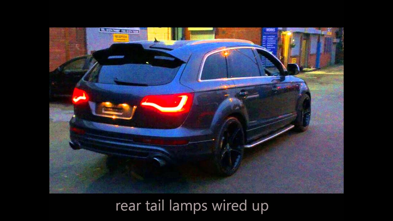 Audi Q7 Facelift Conversion Led Drl Bi Xenon H D Door