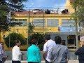 Susana Muniz visito Hopital de PToros luego del incendio
