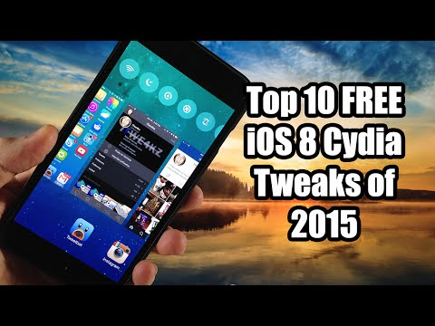 Top 10 Best FREE iOS 8 Cydia Tweaks - 2015