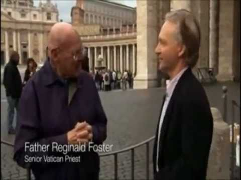 Bill Maher & Father Reginald Foster outside the Vatican (from Religulous)