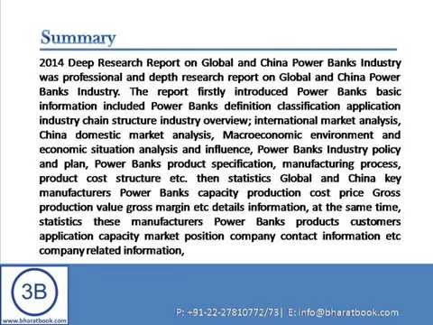 Global and China Power Banks Industry