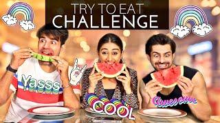 Try to Eat Challenge | Rimorav Vlogs