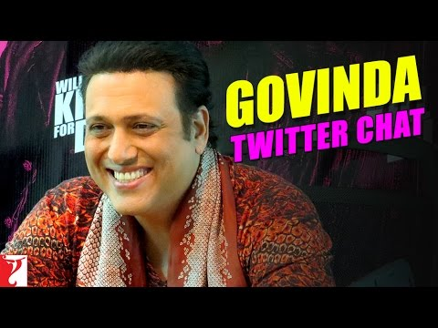 Govinda - Twitter Chat Video - Kill Dil