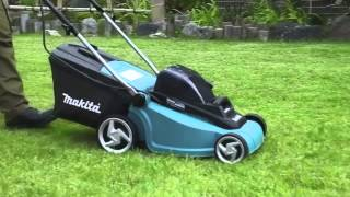 Makita Twin 18v Lawnmower DLM380