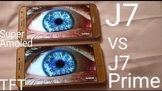 Samsung Galaxy J7 Prime Display (TFT) Test: Compare With J7 (Super Amoled)
