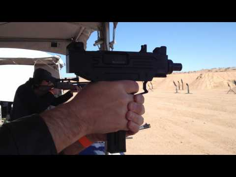 Shooting the new Umarex IMI .22 Caliber Uzi