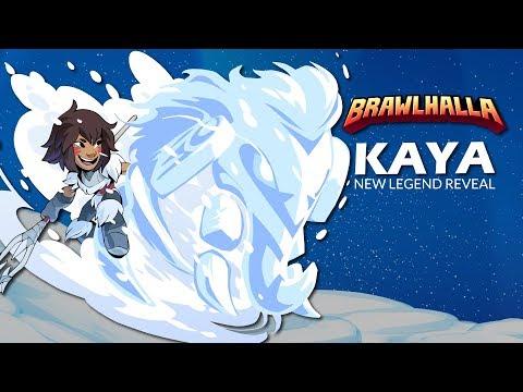 Kaya - Brawlhalla Legend Reveal - New Bow / Spear Legend in Brawlhalla Patch 3.08