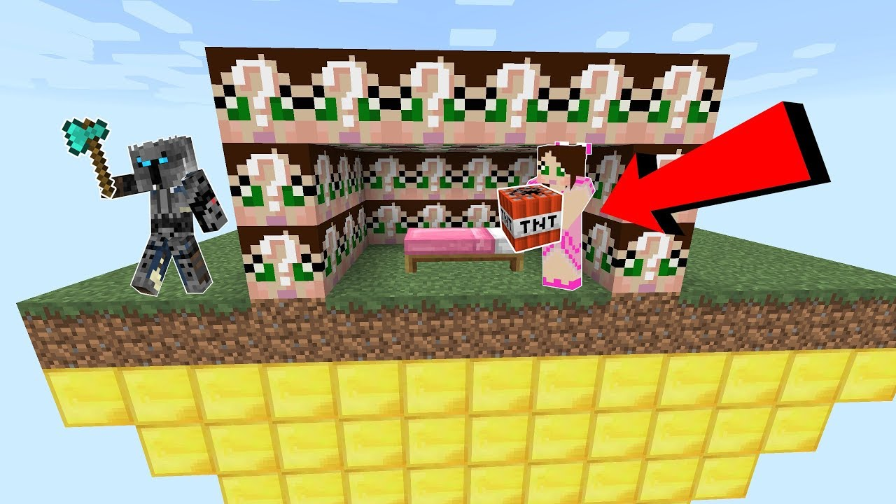 Minecraft: GAMINGWITHJEN LUCKY BLOCK BEDWARS! - Modded Mini-Game