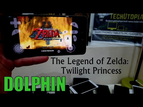 The Legend of Zelda Twilight Princess Dolphin emulator OnePlus 3T/snapdragon 821/Android/gamecube