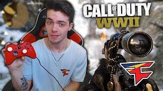 FAZE ADAPT PLAYS CALL OF DUTY: WW2!!